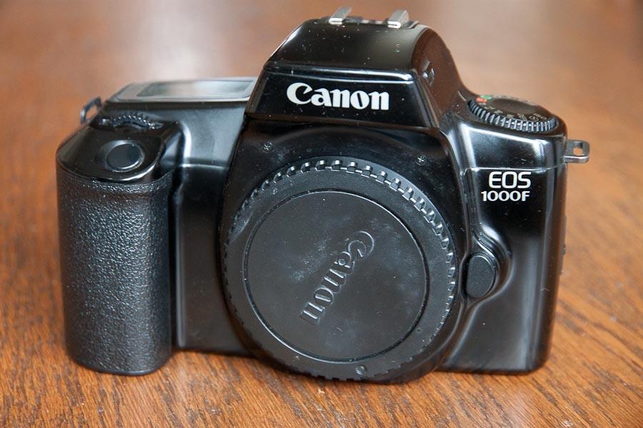 Canon EOS 1000F (1991-1993) 35mm SLR